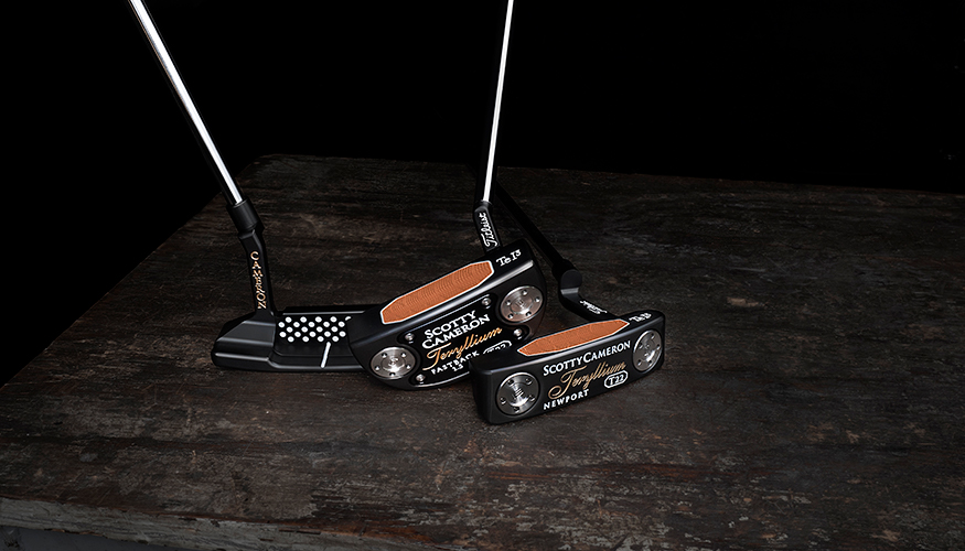 Scotty Cameron Teryllium T22 Putters cover image