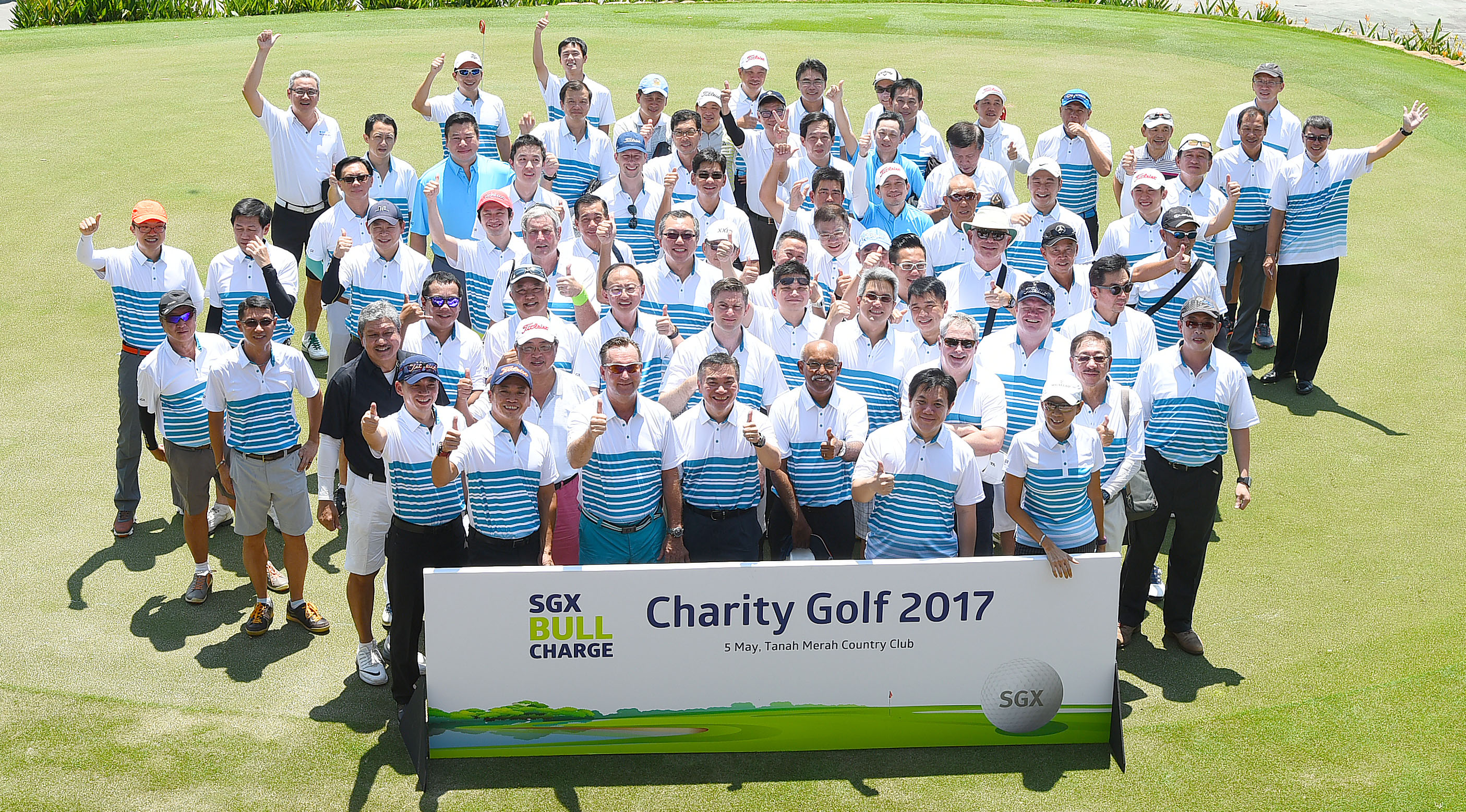 SGX Tees Off Bull Charge 2017 Article cover photo