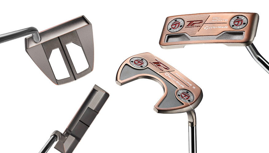 Taylormade TP Patina Putters cover image