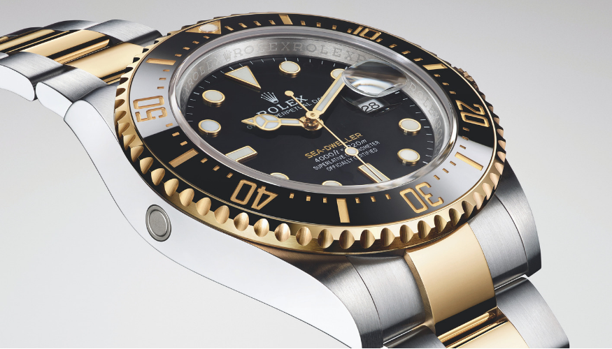Rolex Oyster Perpetual Sea-Dweller Yellow Rolesor cover image