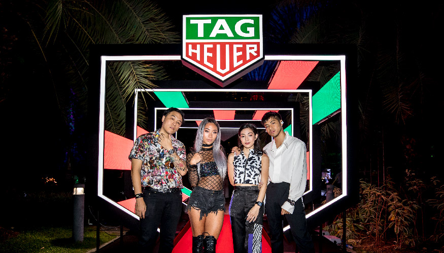 TAG Heuer Celebrates The Singapore Grand Prix Article cover photo