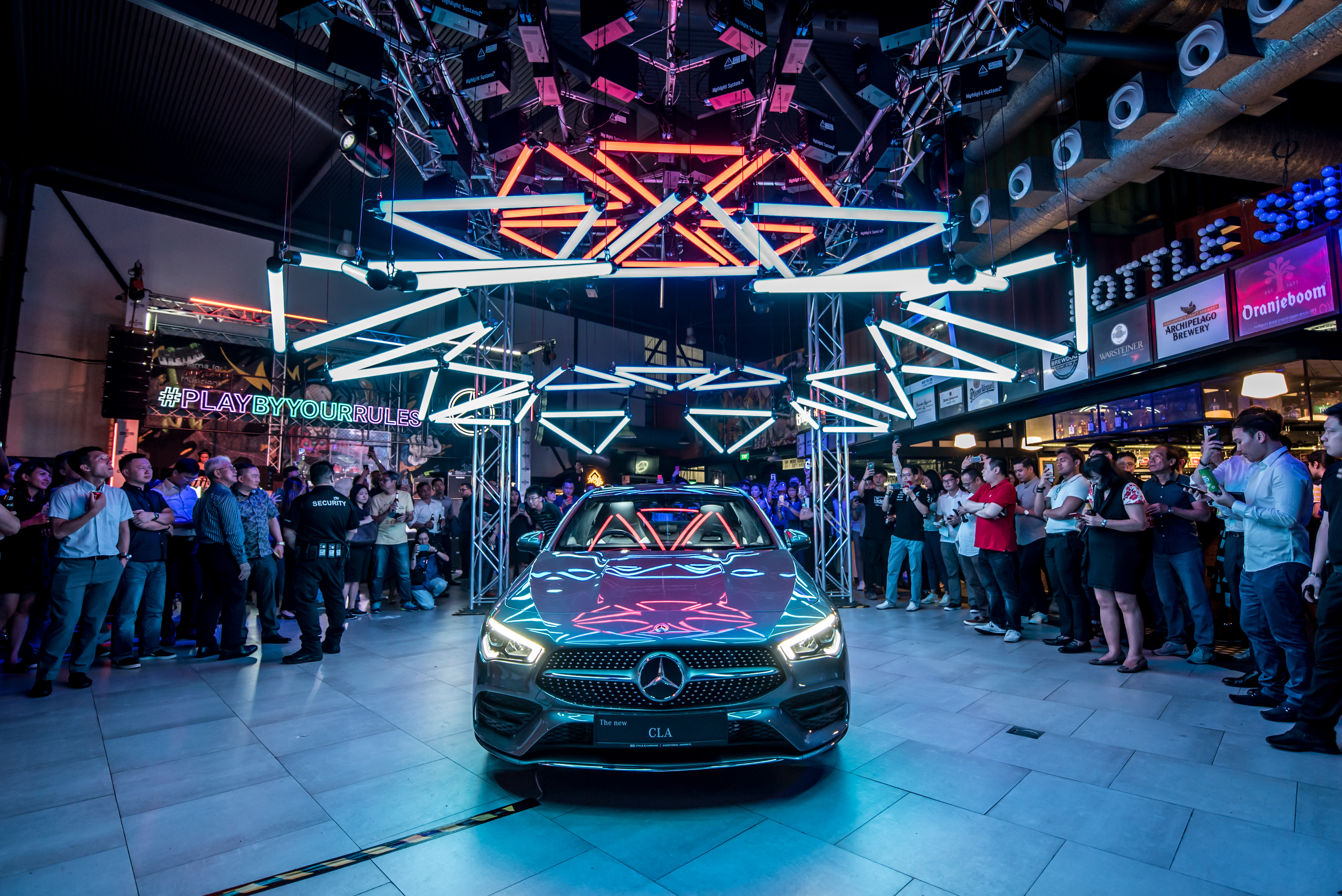 Mercedes-Benz Takeover at TImbre+ Article cover photo