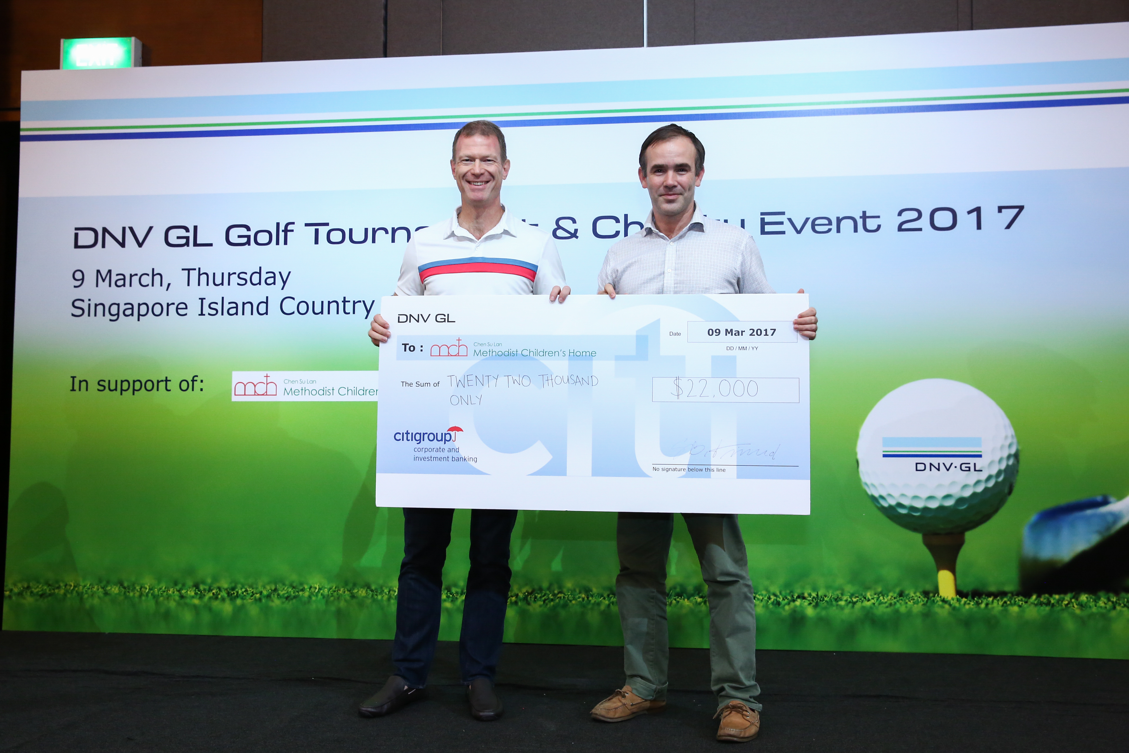 DNV GL's Annual Golf Tournament And Charity Event Article cover photo