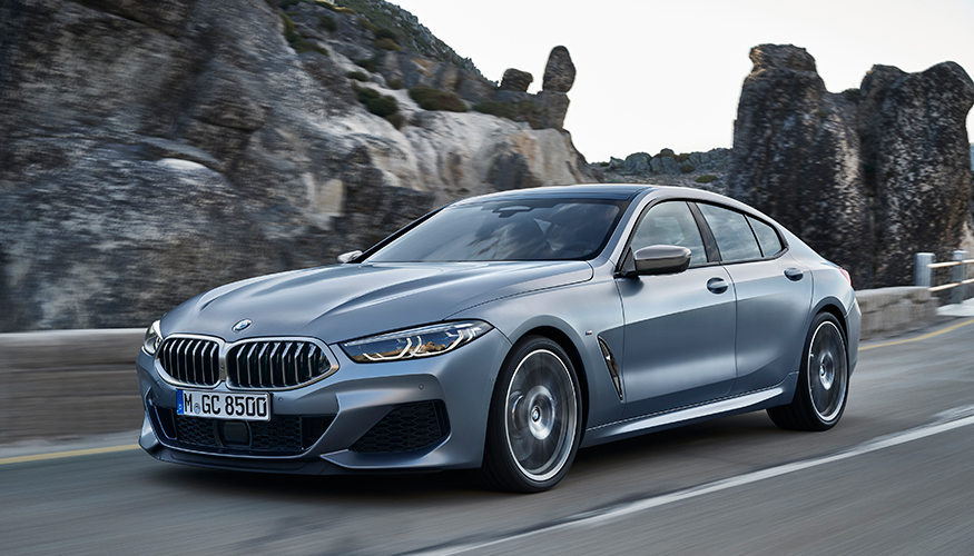 BMW 8 Gran Sports Coupe cover image