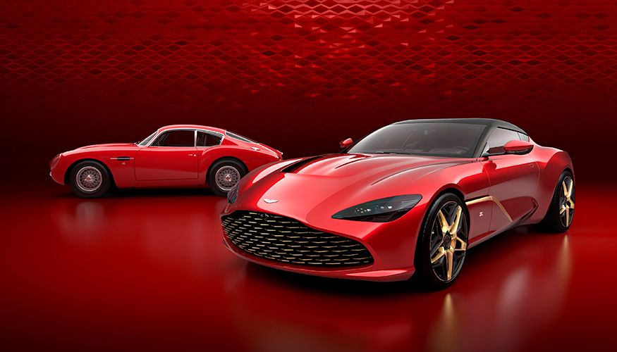 Aston Martin DBZ Centenary Collection Article cover photo