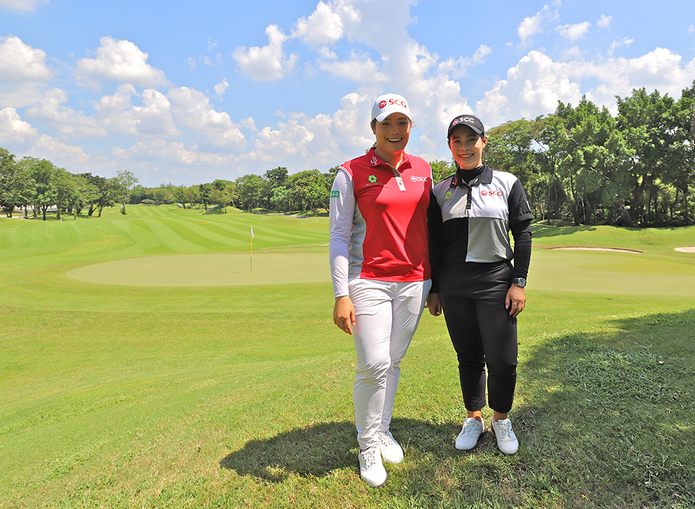 The Jutanugarn Sisters: Peas in a pod, or chalk and cheese? cover image